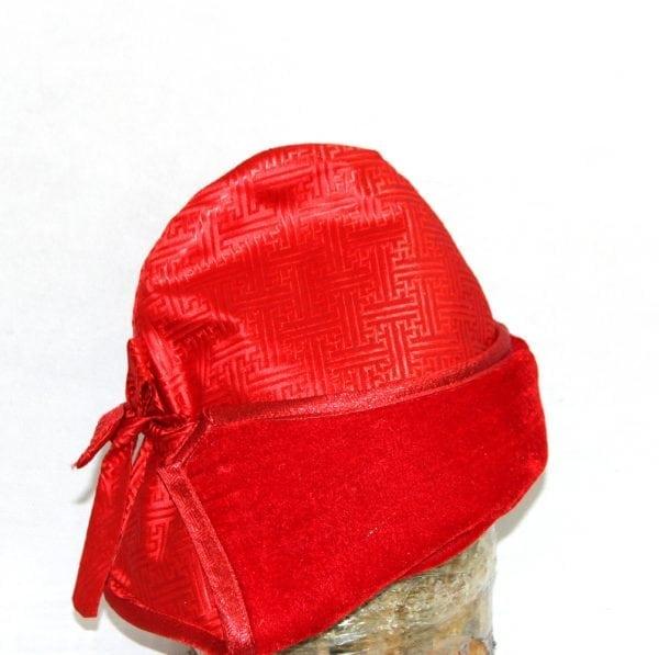 Right Side of Adjustable Tuguldur Hat