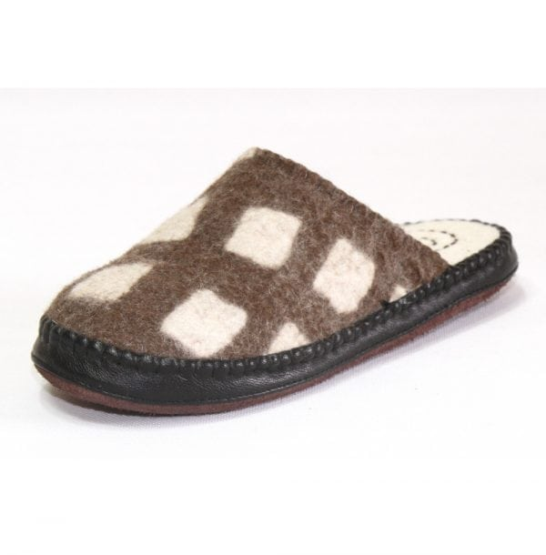 Side of Brown Slipper