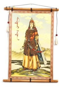 Leather-Wall-Art-with-Manduhai-Queen
