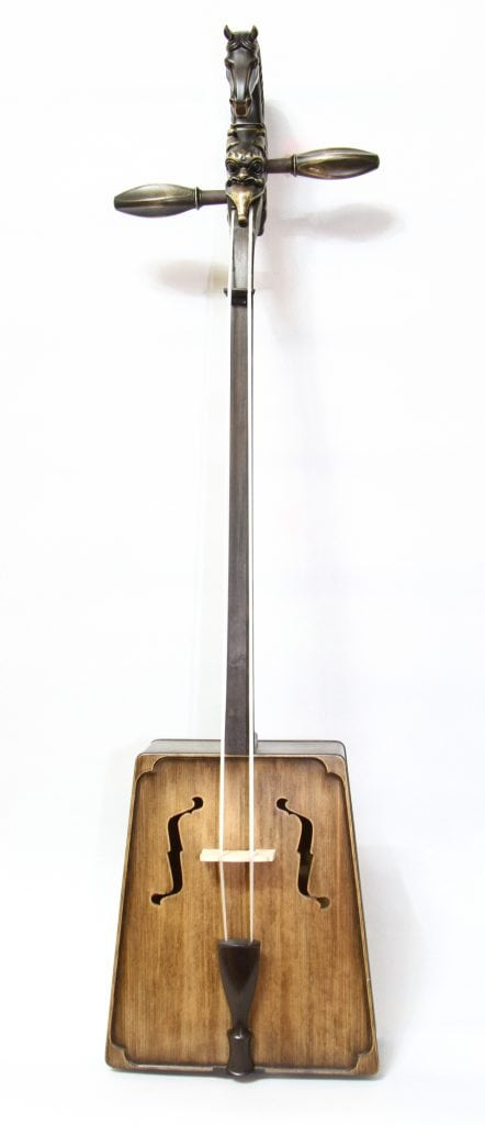 Front of Dark Brown Morin Khuur