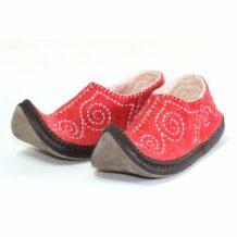 Left Side Red slipper