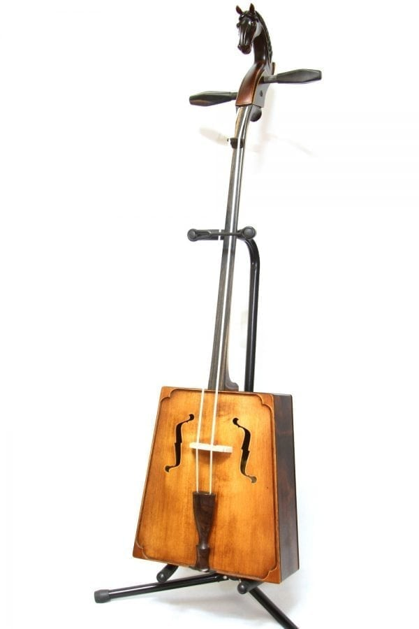 Side of Tawny Morin Khuur