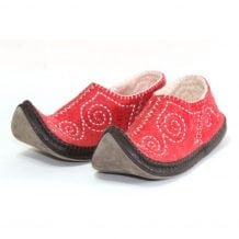 Left Side Red slipper