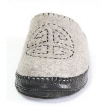 Front of Grey Slipper