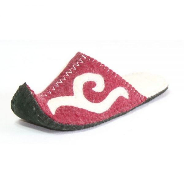 Left Side Pink Slipper