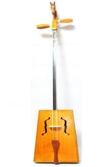Front of Yellow Morin Khuur