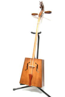 Beginner Light Brown Morin Khuur with Grip