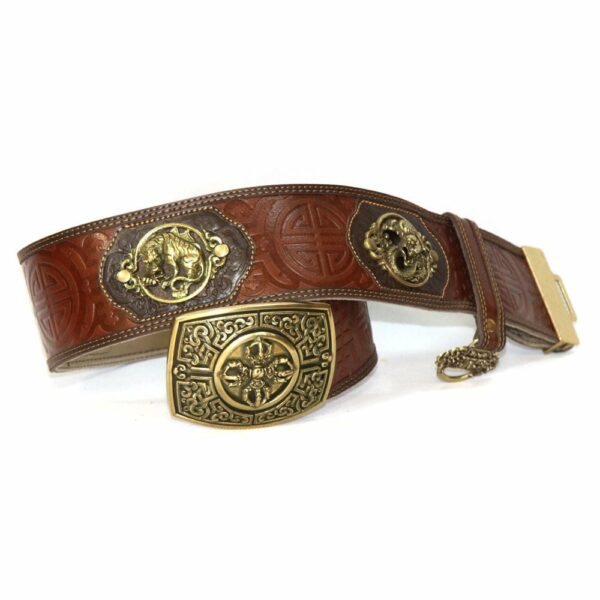 Dark Brown Leathern Belt