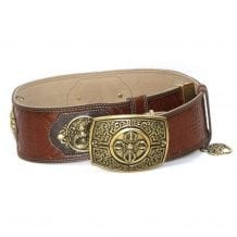Dark Brown Leathern Belt for Deel