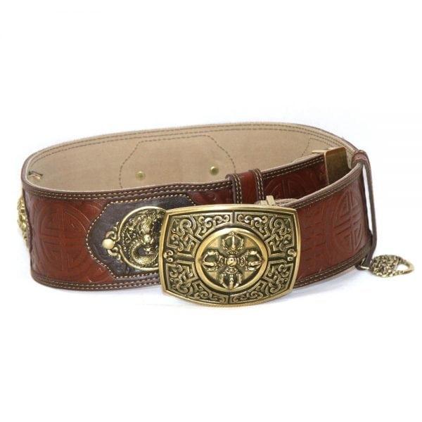 Dark Brown Leathern Belt for Deel