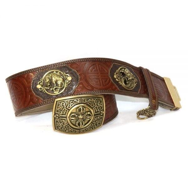 Dark Brown Leathern Belt
