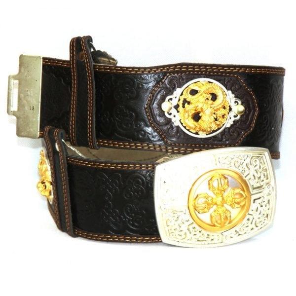 Black Leathern Belt