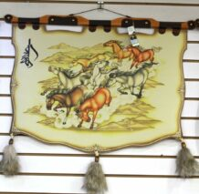 Leathern Wall Hanging