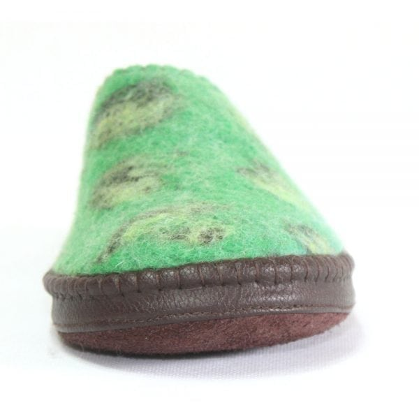 Front of Green Slipper