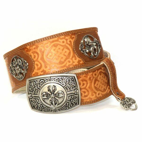 Brown Leathern Belt