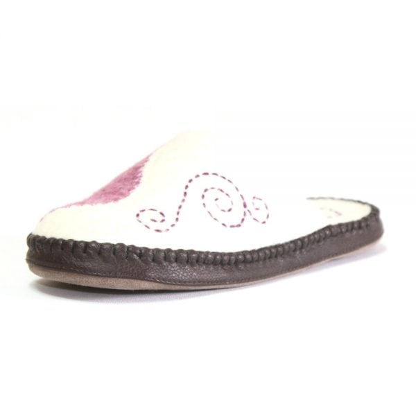 Left Side of Pink Slipper 2