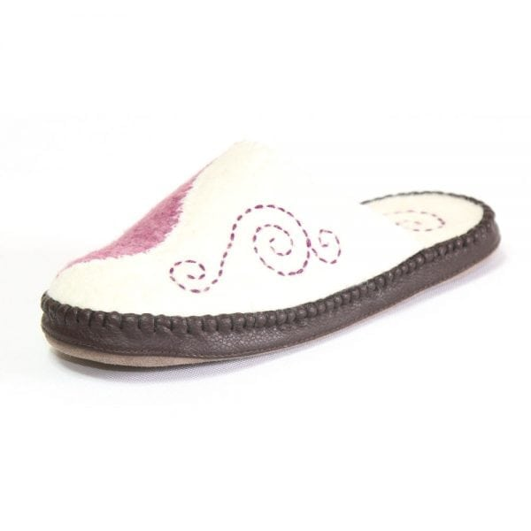 Left Side of Pink Slipper