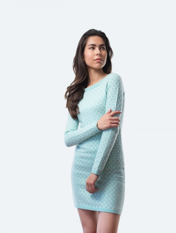 Water Blue Dress
