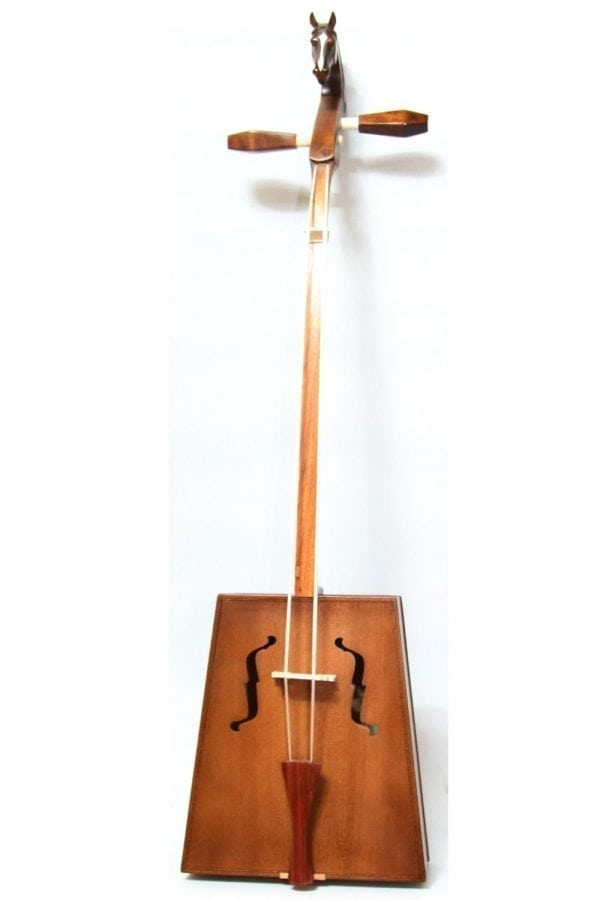 Front of Light Brown Morin Khuur