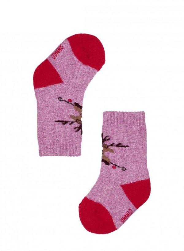 Pink Children's Socks