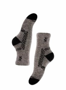Gray Yak Woolen Female Socks