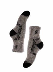 Gray Yak Woolen Female Socks