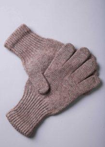 Light Brown Yak Woolen Adult's Gloves