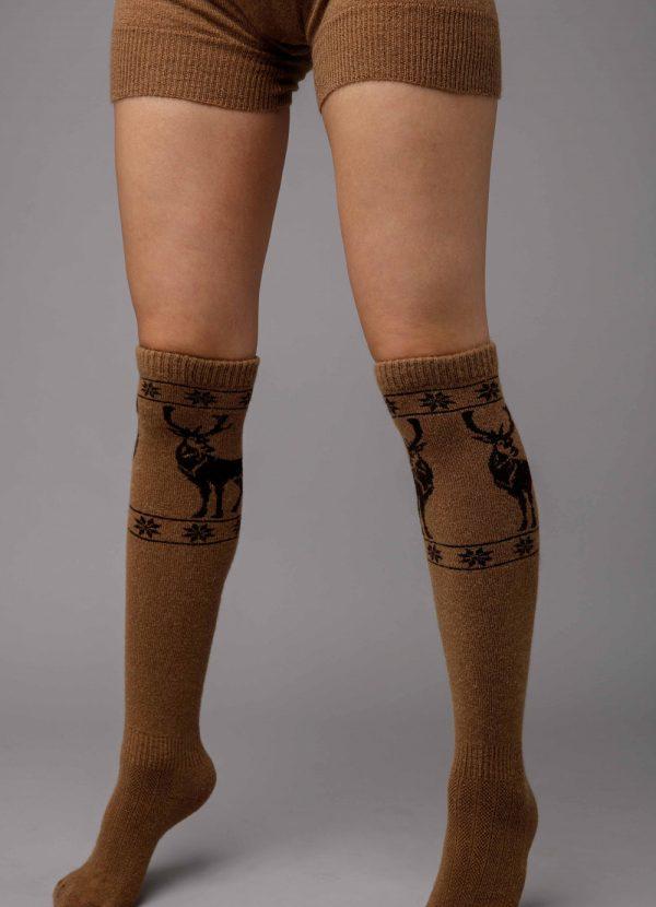 Camel Woolen Socks