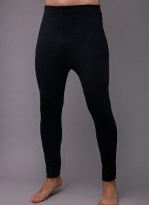 Black Woolen Men's Underpants