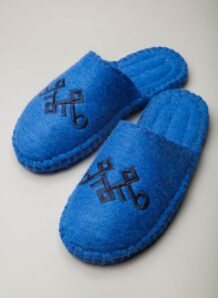 Blue Camel Woolen Slippers