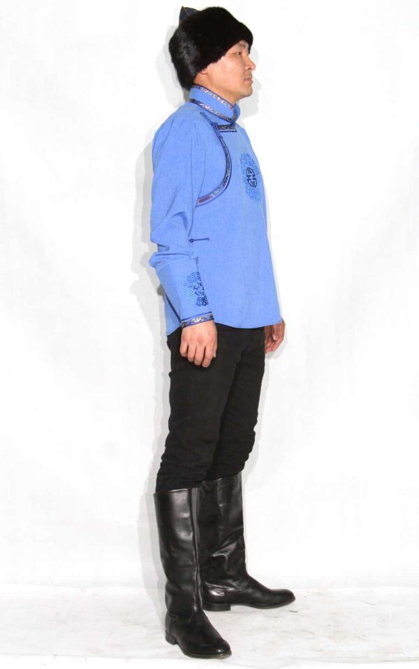 Blue Men Shirt