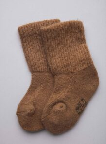 Brown Camel Children's Socks