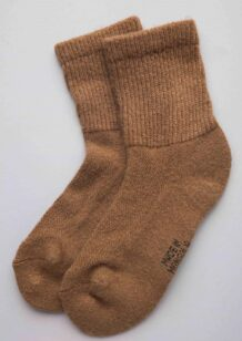 Brown Camel Male Socks