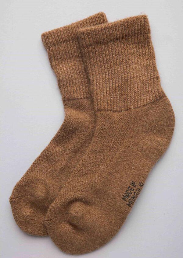 Camel Woolen Male Socks
