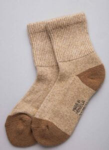 Brown Camel Socks