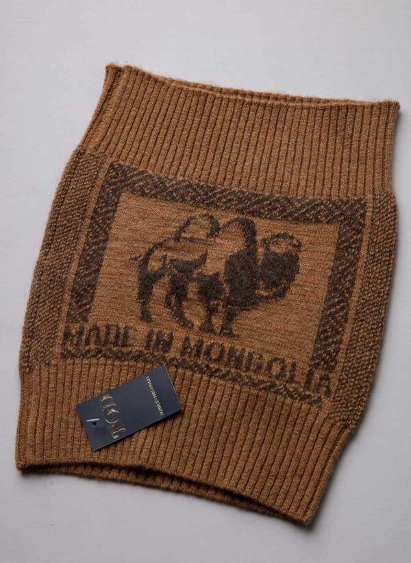 Camel Woolen Belt
