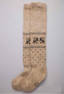 Brown Camel Woolen Children's Socks