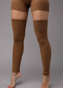 Brown Camel Woolen Gaiters