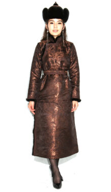 Brown Women's Deel