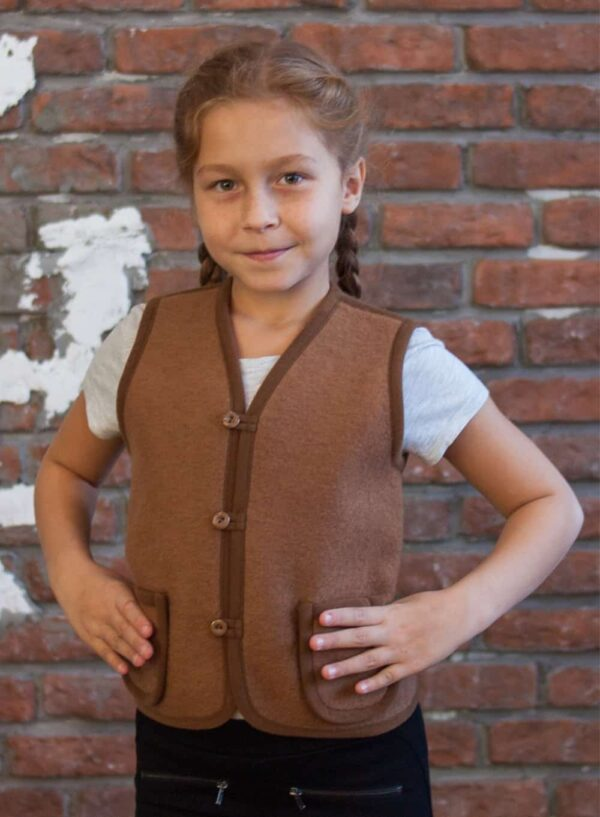 Woolen Kid's Vest