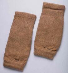 Brown Woolen Knee Pads