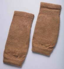 Brown Woolen Knee Pads