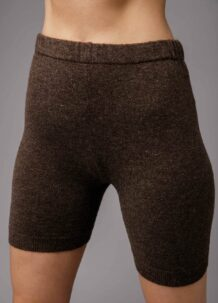 Brown Yak Woolen Men's Short