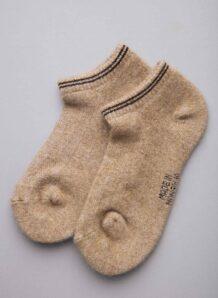 Camel Woolen Sock