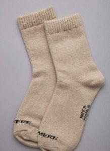 Cashmere sock