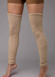 Cream Camel Woolen Gaiters