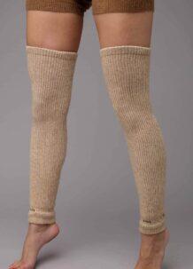 Cream Camel Woolen Gaiters