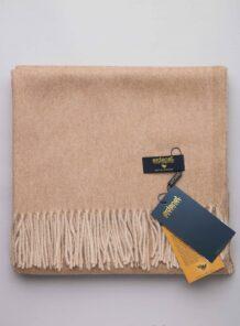 Cream Camel Woolen Scarf 2