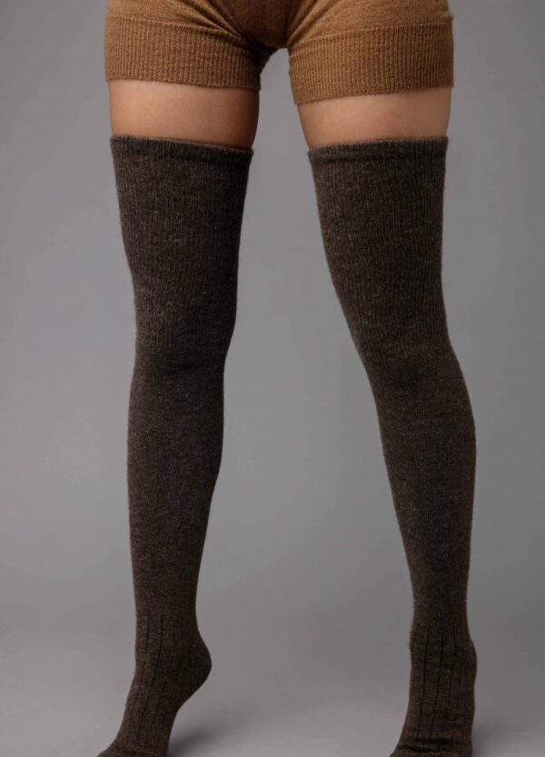 Dark Brown Stocking