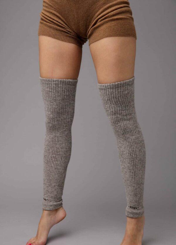 Grey Camel Woolen Gaiters